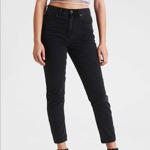 American Eagle Mom Jean Black Wash